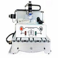 1pc CNC 3040 T-D300 engraving machine  CNC router mini cnc milling machine +4pcs cnc frame