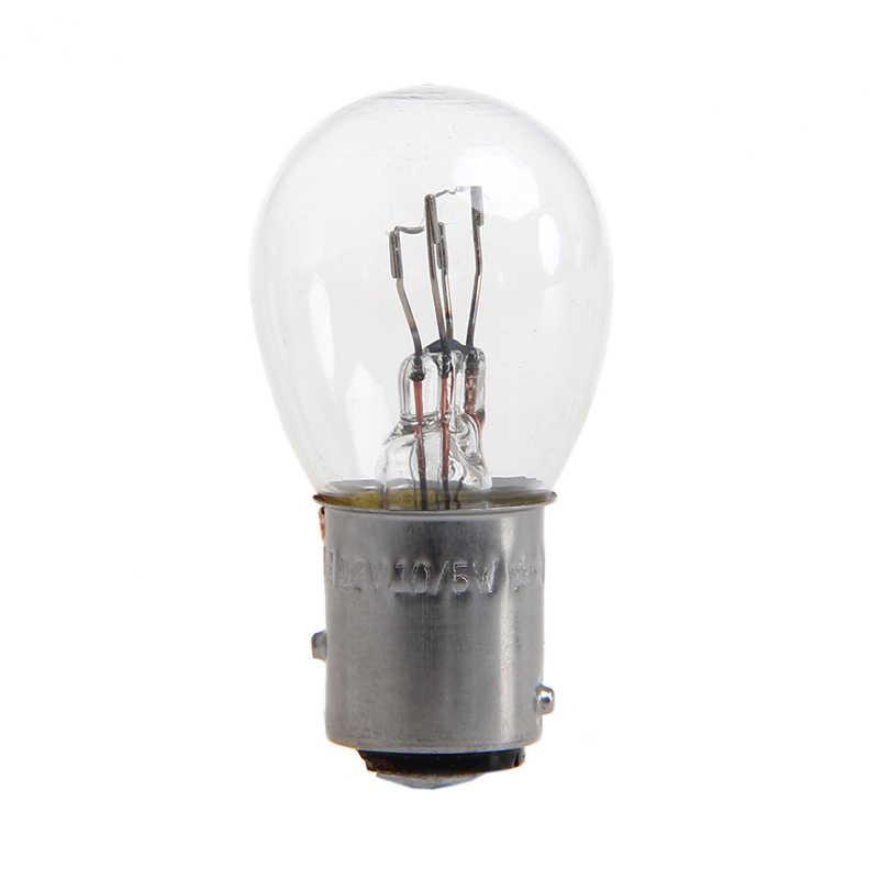 DC 12V 1157 10W אור הנורה רכב אוטומטי בלם להפסיק אות הפעל הפוך זנב מנורת S25