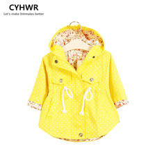 2016 New Girl s Fashion jackets Girls Outerwear Coats Trench Girls Hoodies Jackets Children s Coat
