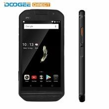 """Doogee S30 IP68 Водонепроницаемый Android 7.0 5580 мАч MTK6737 сбоку отпечатков пальцев двойной камеры 5 В/2A 5.0 """"HD 2 ГБ Оперативная память 16 ГБ Встроенная память смартфона"""