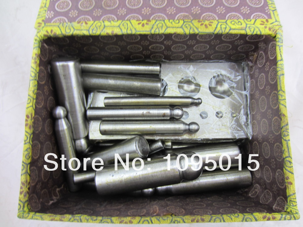 цены 2016 1pc/lot Dapping Puch,Dapping Punches,dapping block set jewelry tools and mchine .