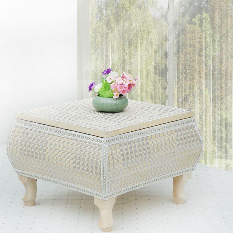 Rattan Coffee Table Tatami Tables Minimalist Windowsill