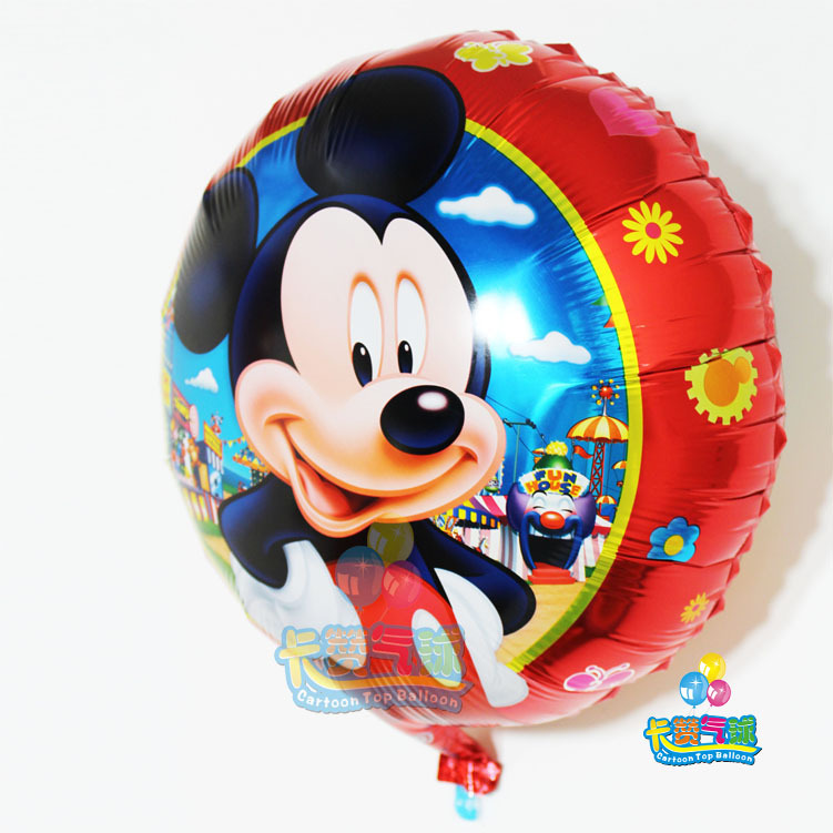 Hot happy birthday balloons Party air globos Supplies fashion classic children's toys Party Mickey Minnie aluminum foil balloons