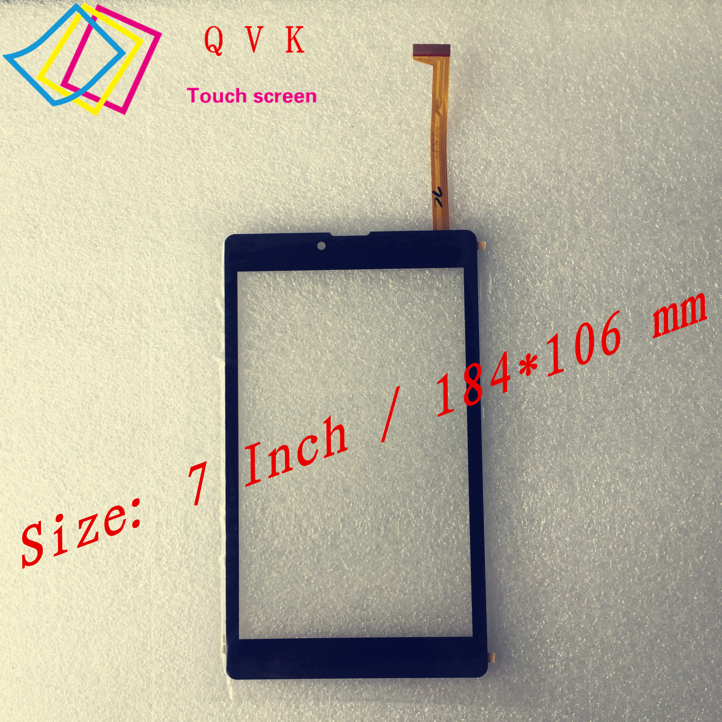 10PCS  New 7 Inch for IRBIS TZ791 4G TZ791B TZ791w tablet pc capacitive touch screen glass digitizer panel Free shipping