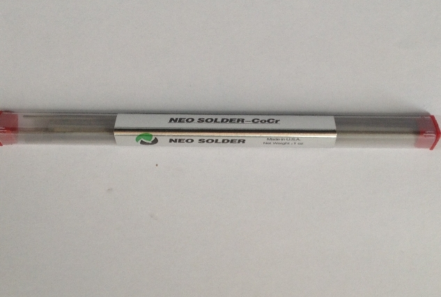 1pack Dental Lab Product High Temperature Welding Rod Neo Welding For PFM Soldering