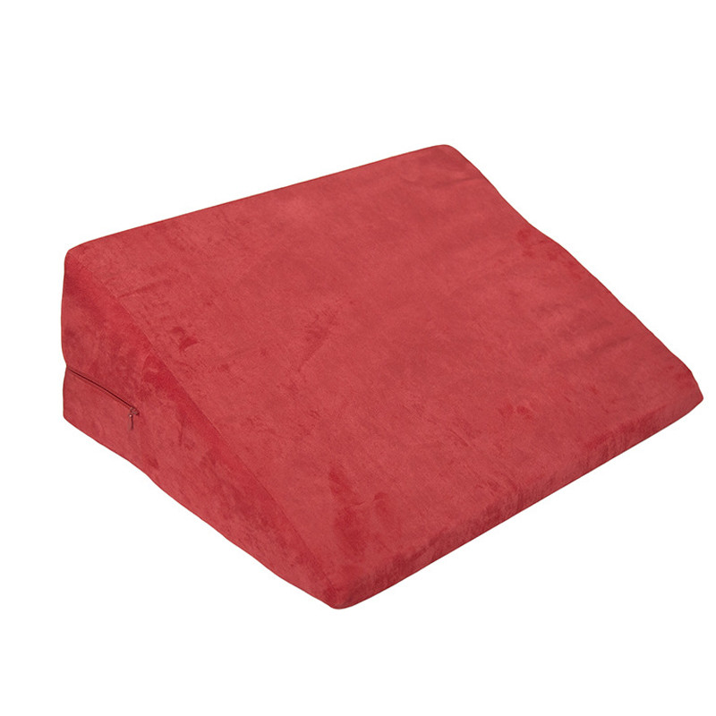 Sex Chair Wedge 1 piece Triangle Sponge Pad Adult Pillow Sex Cube Sofa Bed Sex Furniture Adults Game Product For Couples cushion sponge sofa sexy pillows adult bed sex cube wedge erotic sex pillow toys