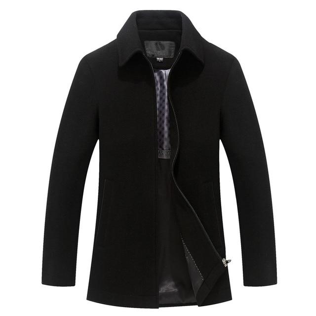 Men's Winter Wool Coat...
