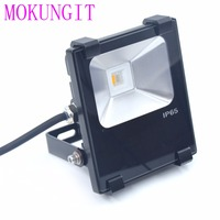 1Pcs LED 10W RGBW Flood Light 2 4G RGBW Milight Wifi LED Flood Light Waterproof IP65