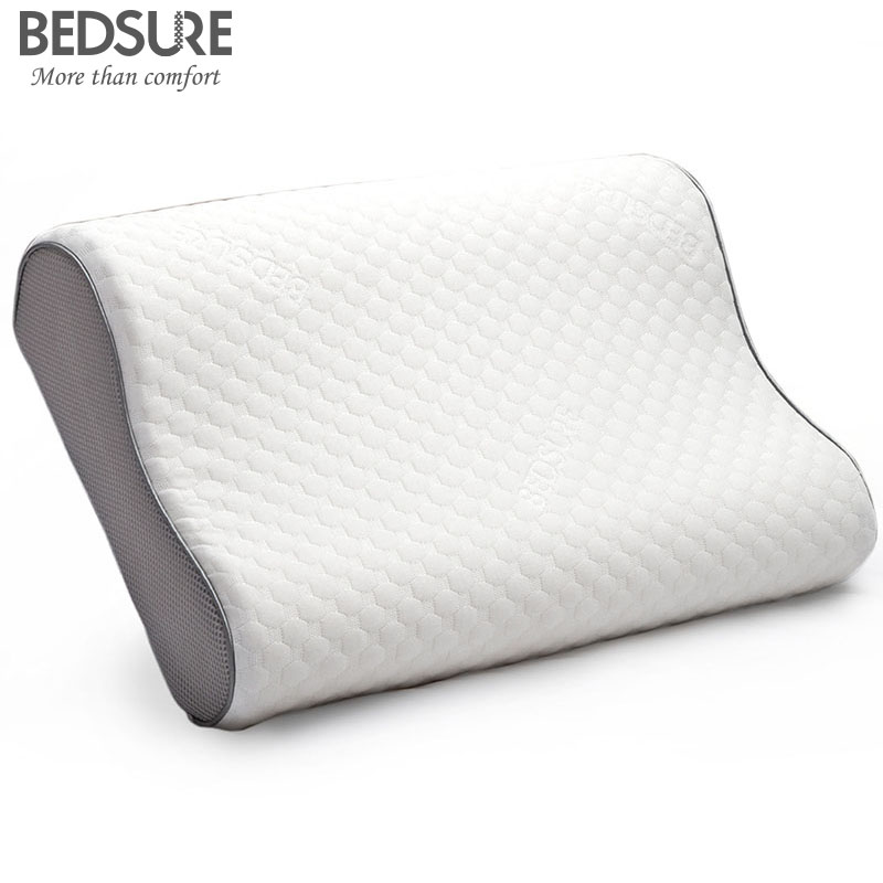 Bedsure Soft Memory Foam Pillow For Side Sleepers Neck