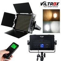 Viltrox VL S50T Camera SMD LED Studio Video Light Lamp 3200K 5600K Slim Metal Bicolor Dimmable & Wireless remote control CRI 95+
