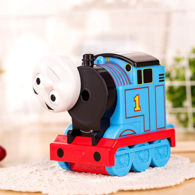 Deli new 2017 Stationery Cartoon Pencil sharpener Kawaii Thomas train Pencil Sharpener for kids school supplies pencil sharpener deli stationery pencil sharpener mechanical cartoon kawaii pencil sharpener cute pencil sharpener office & school supplies