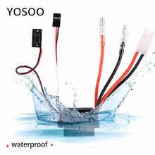 ESC 320A Brushed Electronic Speed Controller for RC Ship Boat Car Model low voltage protection low-resistance field effect tube(China)