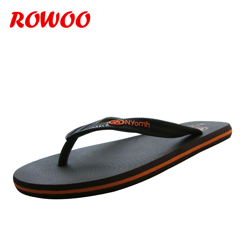Mode yellow Sport Plat Simple Casual Caoutchouc Air Flip D'été Style brown Flip Impression flop En Hommes Plein Chaussures Sandales Black De Flops xq1006IA