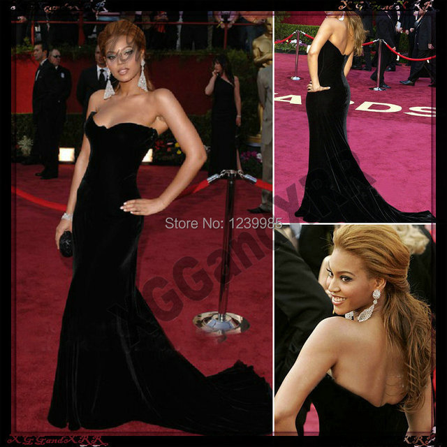 Red and Black Sequin Cocktail Dresses Oscars