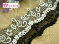 5Yards/Lot 8.5cm DIY clothing accessories patchwork lace yarn crochet lace embroidery /music notation