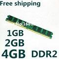 Высокое качество New Sealed DDR2 800/PC2 6400 1 ГБ 2 ГБ 4 ГБ обои для рабочего Память RAM совместимость с DDR 2 667 МГц/533 МГц На Складе