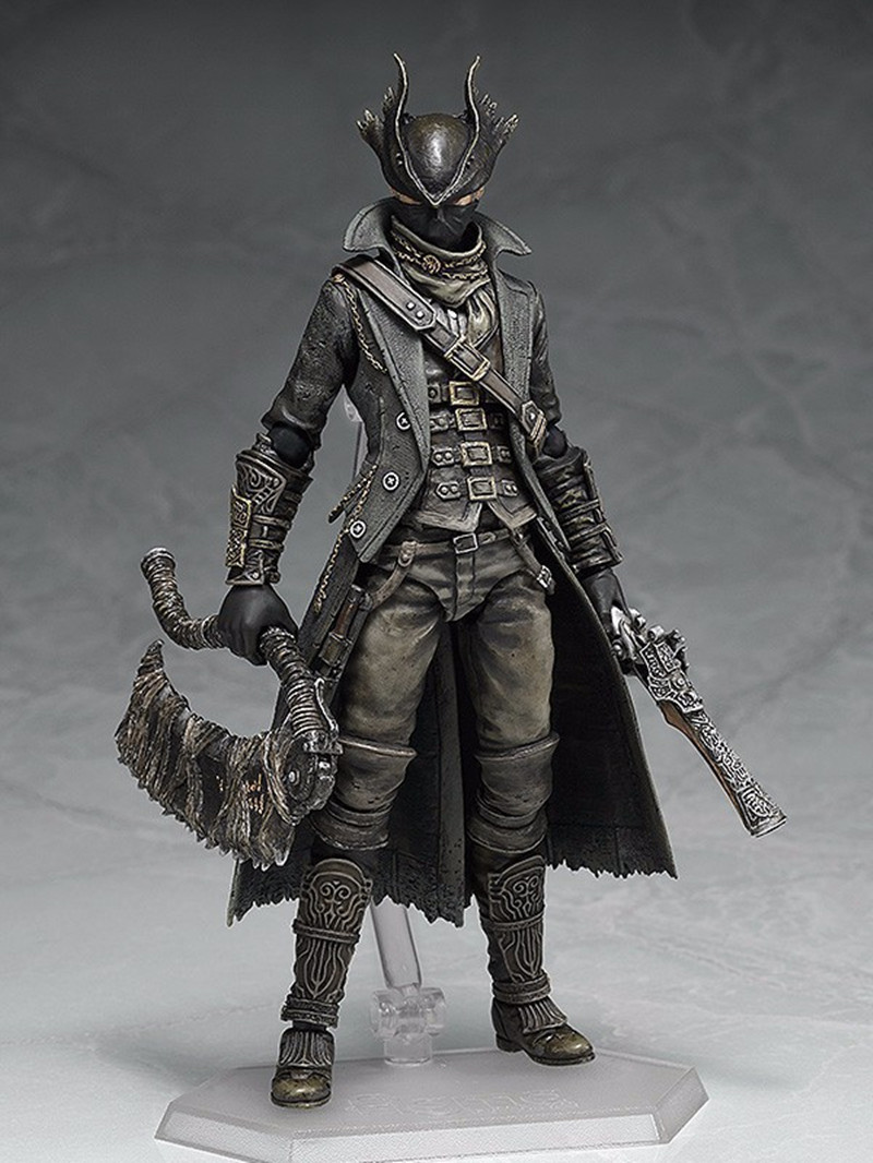 Bloodborne 367 Hunter Game Figma  Action Figure Model  Collection Of Ornaments Toy Doll  Gift