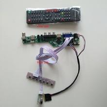 """עבור 15.6 """"1366*768 LTN156AT05 VGA צג כבל AV לוח תצוגת טלוויזיה HDMI USB בקר LCD LED ערכת פנל"""