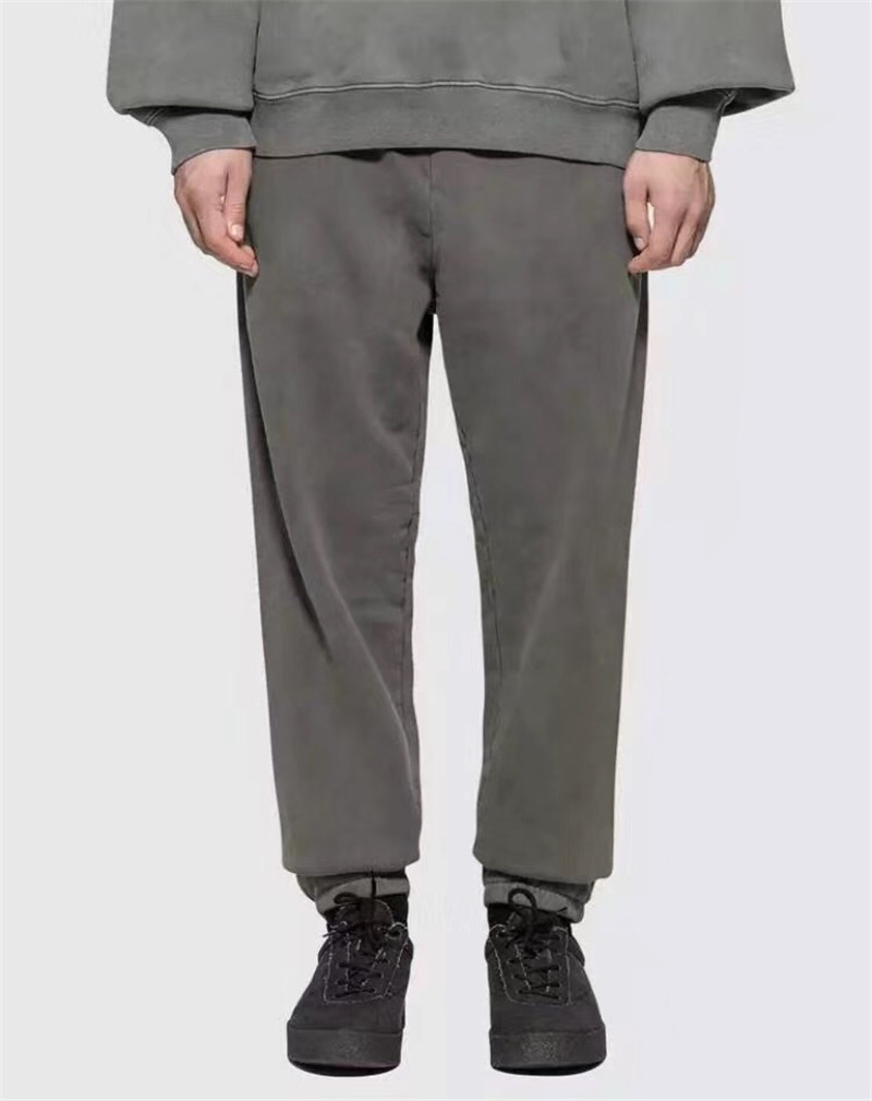 Season 6 Calabasas Sweatpants Men 1:1 High Quality Kanye West Drawstring Joggers Sweat Pants Trousers Season 6 Sweatpants(China)