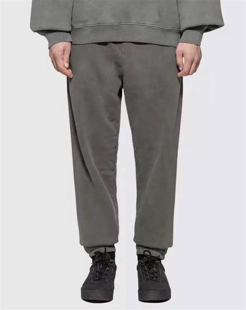 Season 6 Calabasas Sweatpants Men 1:1 High Quality Kanye West Drawstring Joggers Sweat Pants Trousers Season 6 Sweatpants