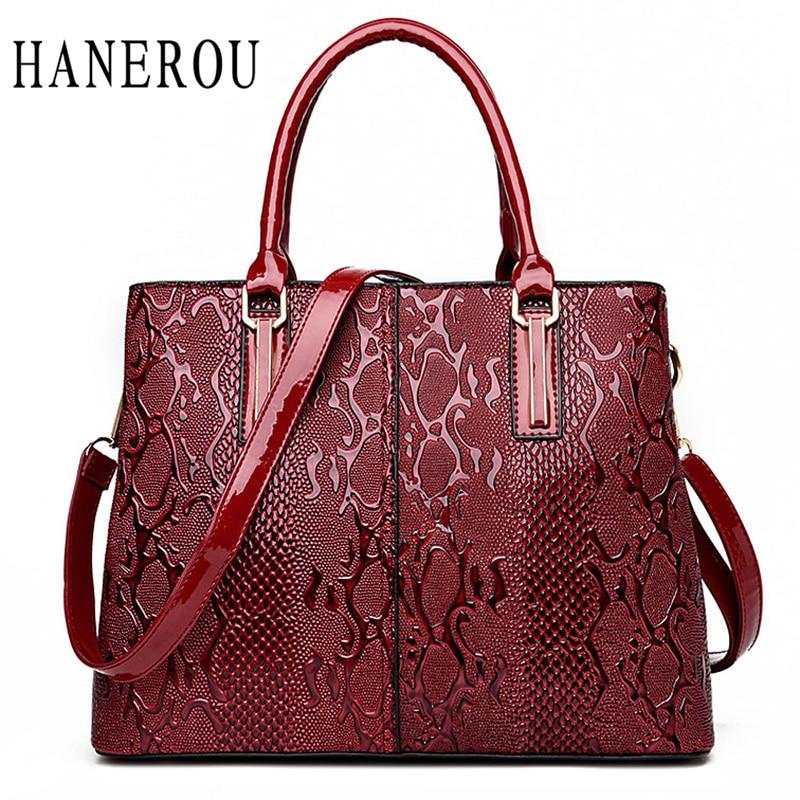Fashion Serpentine Ladies Hand Bags 2018 Luxury Handbags ...