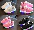 Модная детская обувь  детская обувь со светодиодами  светящиеся кроссовки  размер 21-30  детские кроссовки для девочек и мальчиков  Мягкая сет...