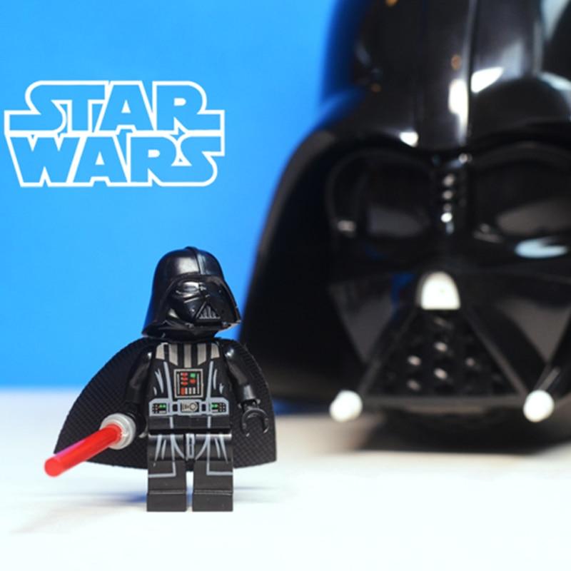 Star Wars Yoda Jedi Sith Darth Vader Marvel Super Heroes Building Blocks Toy DIY