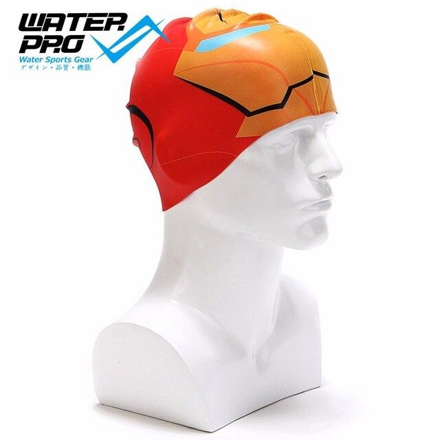 Natación de silicona Pro de agua/tapa de piscina para adultos y niños-mantener el cabello seco-Recreativo/competitivo/ nadadores de Fitness-más color