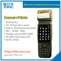 Barcode Scanner Handheld Rugged PDA NFC 3.5inch Android PDA Terminal with Printer