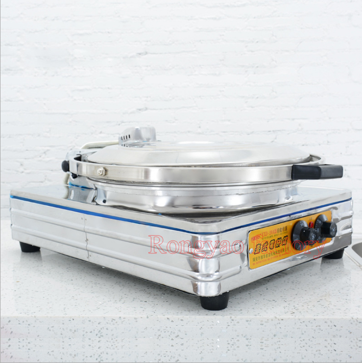 Electric baking pan Pancake machine Business desktop Cake pancake bake pie oven Thousand layer bread machine in Waffle Makers from Home Appliances