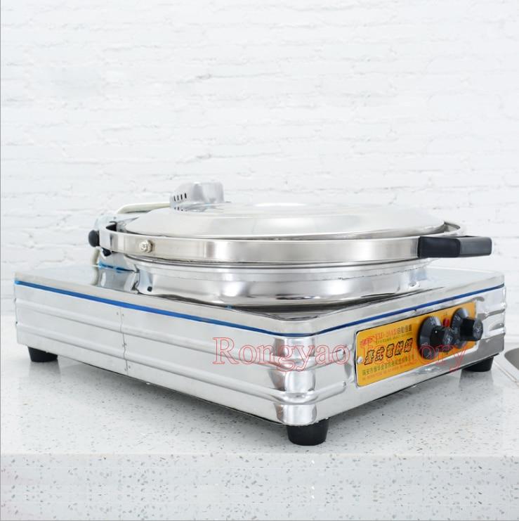 Electric baking pan Pancake machine Business desktop Cake pancake bake pie oven Thousand layer bread machine