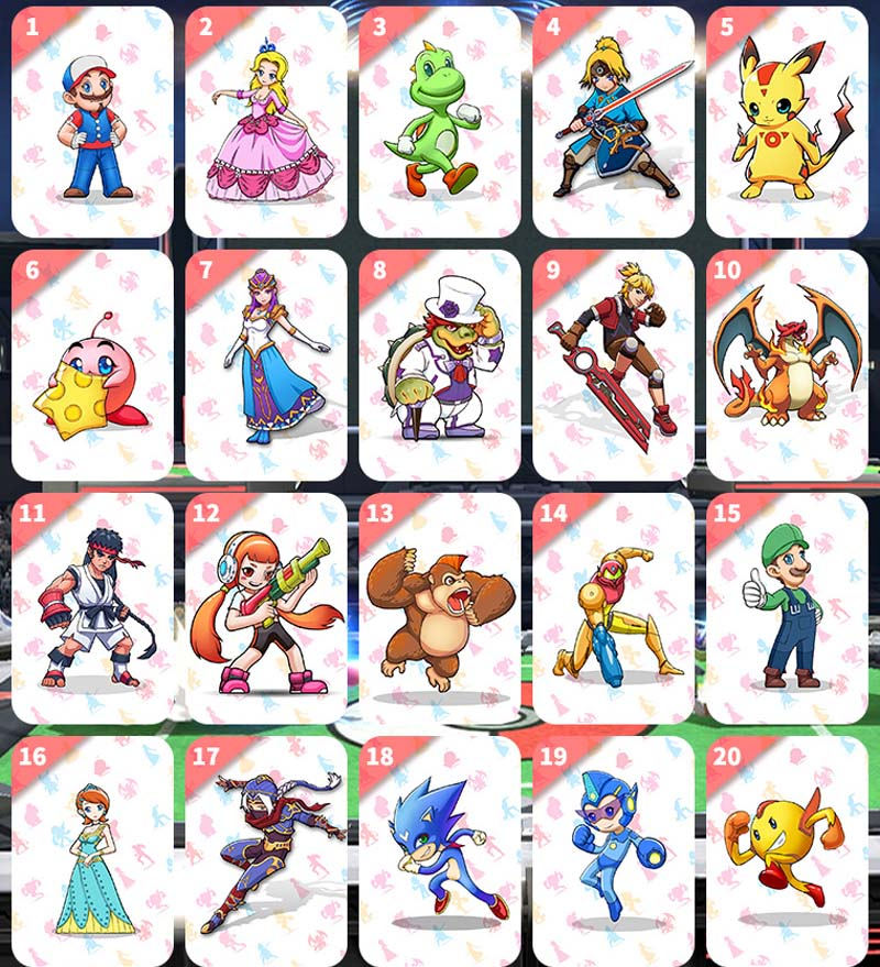 The Games Card Switch NFC Ntag215 Switch Mario Card NS Suitable Super Smash Bros Ultimate