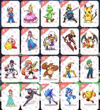 лучшая цена The Games card Switch NFC ntag215 switch mario card NS Suitable super smash bros ultimate