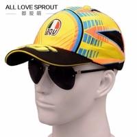 2015 2016 New Season Offical Moto GP 46 Rossi Unisex Baseball Cap Snapback Hat Sports Cap