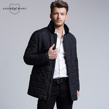 ANDREW MARC MNY 2016 Men Slim Casual Parkas Cotton Jacket Coat New Style Ultralight Comfortable Autumn Overcoat S-XXL TM6AC141