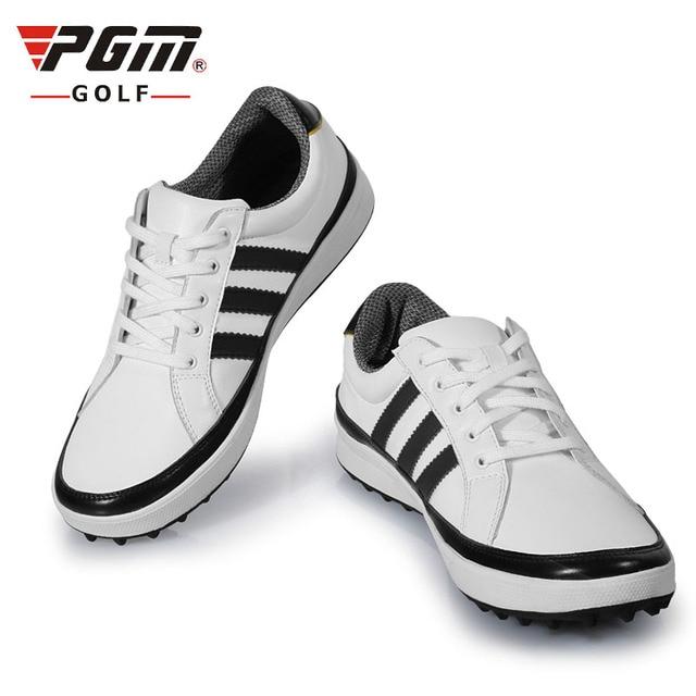 PGM homme Chaussures de golf - en microfibre Cuir respirant, étanche à l eau 44701bb0de9d