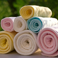 Ecologia Algodão Bebê Fralda Mudando de cor 30 Peças Pacote de fraldas Reutilizáveis frete grátis