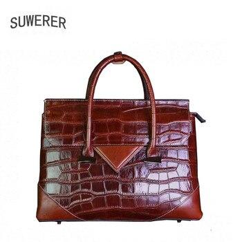 Genuine Leather handbag 2017 new high fashion shoulder Messenger bag Women's handbags
