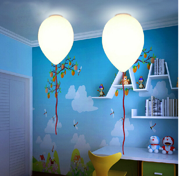 lighting kids room. aliexpresscom buy childrenu0027s room decor droplight balloons hanging lamp ceiling mounted kids pendant lighting glass lampshades milky ball from reliable