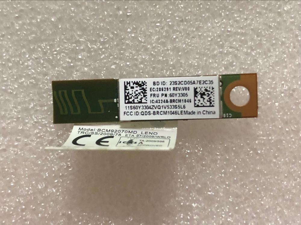 New Original 4.0 Bluetooth Module Lenovo ThinkPad X230 X220 T410 T420 T430 T530 T510 T520 W510 W520 W530 FRU 60Y3303 60Y3305