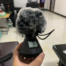 Deat cat Outdoor artifical fur wind muff windscreen shield for ZOOM H3-VR  Outside