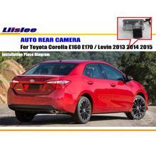 Liislee автомобиля Камера для Toyota Corolla E160 E170/Левин 2013 2014 2015/заднего вида Камера/NTST PAL /поворотника