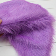 """Lavender Solid Shaggy Faux Fur Fabric (long Pile fur) Costumes Cosplay Cloth 36""""x60"""" Sold By The Yard Free Shipping"""