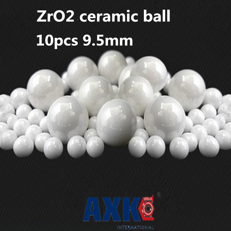 Free Shipping 10pcs 9.5mm 9.5 Zro2 Ceramic Balls Zirconia Balls Used In Bearing/pump/linear Slider/valvs Balls G10 двухкамерный холодильник hitachi r vg 542 pu3 gpw белое стекло