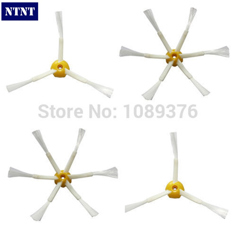 NTNT New 2 x Side Brush 3/ 6armed for iRobot Roomba 500 600 700 Series 550 560 630 650 780 free post new 3 pieces 6 arms sidebrush for irobot roomba 500 600 700 series side brush 550 560 570 630 650 760 770