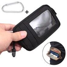Тактический кошелек, сумка для карт, водонепроницаемый держатель для карточки-ключа, сумка для денег, для улицы, военный Многофункциональный кошелек, поясная сумка для охоты