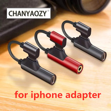 Audio Adapter for apple 3.5mm Charging Call for iphone 6 6S X 8 7 Plus XS MAX XR Original Headphone AUX Splitter Connector