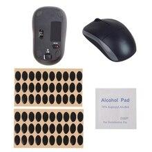 New 60pcs Teflon Mouse Feet Mouse Skates Pads - For Logitech M215 / M310 M325 hot