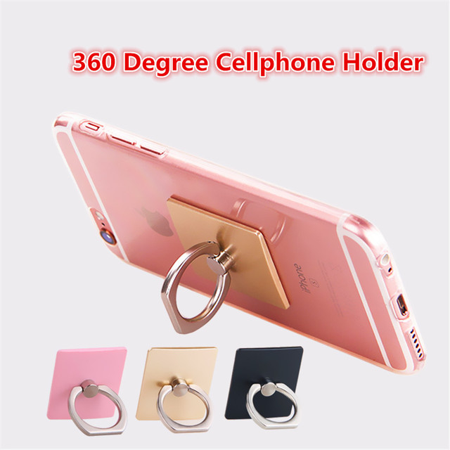 360 Degree Finger Ring Mobile Phone Smartphone Stand Holder For iPhone iPad for Android Smart Phone Supports Anti-theft