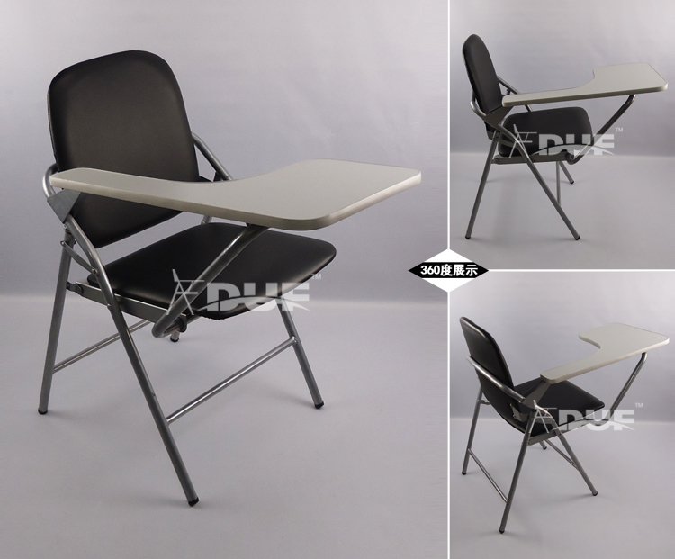 Modern PU Folding Conference Chair With Writing Oversized Board Inspiration College  Chair ...